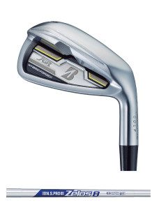 JGR HYBRID FORGED IRON [N.S.PRO Zelos 8 シャフト](STEEL)4本セット(#7〜PW1) BRIDGESTONE GOLF