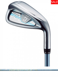 TOUR B JGR LADY IRON BLUE [AiR Speeder L for IRON](カーボン)5本セット(#7〜9,#PW,SW)
