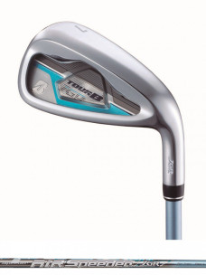 TOUR B JGR LADY IRON BLUE [AiR Speeder JGR for Iron](カーボン)5本セット(#7〜9,#PW,SW)