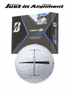 ゴルフボール BRIDGESTONE GOLF TOUR B XS Just-in Alignment [1ダース:12個]