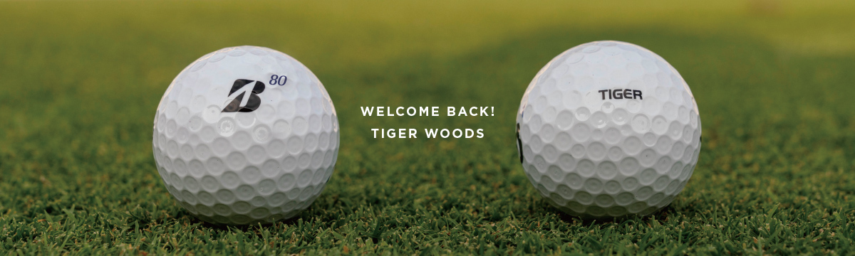 Welcome Back! Tiger Woods